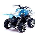 Мотоцикл инерционный «Квадрик», цвета МИКС, фото 3