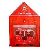 Домик- палатка «Пожарная станция», высота 103 см, фото 3