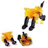 Робот «Воин», трансформируется при столкновении 2 штуки, в комплекте, МИКС, фото 6