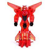 Робот «Воин», трансформируется при столкновении 2 штуки, в комплекте, МИКС, фото 9