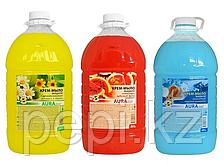 Крем-мыло жидкое «Аура»  5 литров