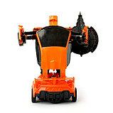 """Робот """"Автобот"""", трансформируется, с инерционным механизмом, цвет оранжевый, фото 4"""