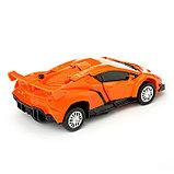 """Робот """"Автобот"""", трансформируется, с инерционным механизмом, цвет оранжевый, фото 7"""