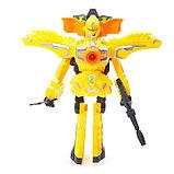 Робот «Бластер», трансформируется в робота, стреляет мягкими пулями, цвет жёлтый, фото 3