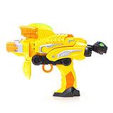 Робот «Бластер», трансформируется в робота, стреляет мягкими пулями, цвет жёлтый, фото 6