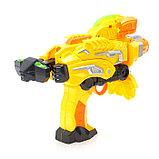 Робот «Бластер», трансформируется в робота, стреляет мягкими пулями, цвет жёлтый, фото 7