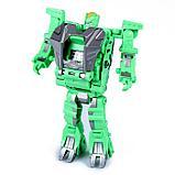 """Робот """"Трицератопс"""", трансформируется в часы и динозавра, фото 4"""