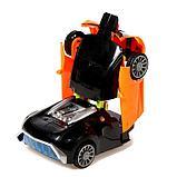 """Робот радиоуправляемый """"Спорткар"""", трансформируется, работает от батареек, цвета МИКС, фото 6"""