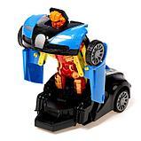 """Робот радиоуправляемый """"Спорткар"""", трансформируется, работает от батареек, цвета МИКС, фото 10"""