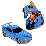 """Робот радиоуправляемый """"Автобот"""", трансформируется, работает от батареек, цвета МИКС, фото 2"""