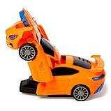 """Робот радиоуправляемый """"Автобот"""", трансформируется, работает от батареек, цвета МИКС, фото 4"""