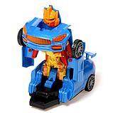 """Робот радиоуправляемый """"Автобот"""", трансформируется, работает от батареек, цвета МИКС, фото 9"""