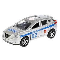 Машина металлическая «Nissan murano. Полиция», 12 см, открывающиеся двери, инерционная