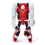 Робот «Пожарный», трансформируется, с металлическими элементами, фото 3