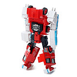 Робот «Пожарный», трансформируется, с металлическими элементами, фото 4