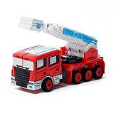 Робот «Пожарный», трансформируется, с металлическими элементами, фото 5