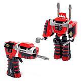"""Робот """"Шуруповёрт"""", трансформируется, работает от батареек, цвета МИКС, фото 2"""