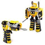 """Робот """"Шуруповёрт"""", трансформируется, работает от батареек, цвета МИКС, фото 3"""