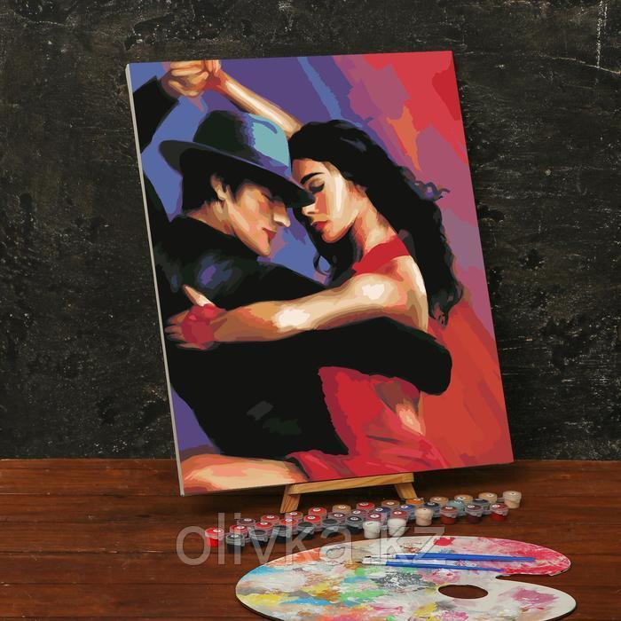 Картина по номерам на холсте с подрамником «Танго» 40х50 см