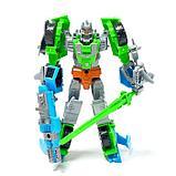 """Робот """"Универсальный боец"""", трансформируется, 2 собираются в 1 робота , МИКС, фото 4"""