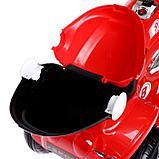 Электромобиль «Чоппер», с аккумулятором, световые и звуковые эффекты, цвет красный, фото 7