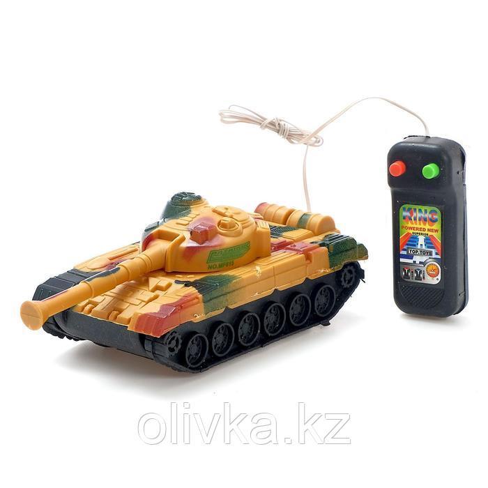 Танк «Тигр», на дистанционном управлении, цвета МИКС - фото 4