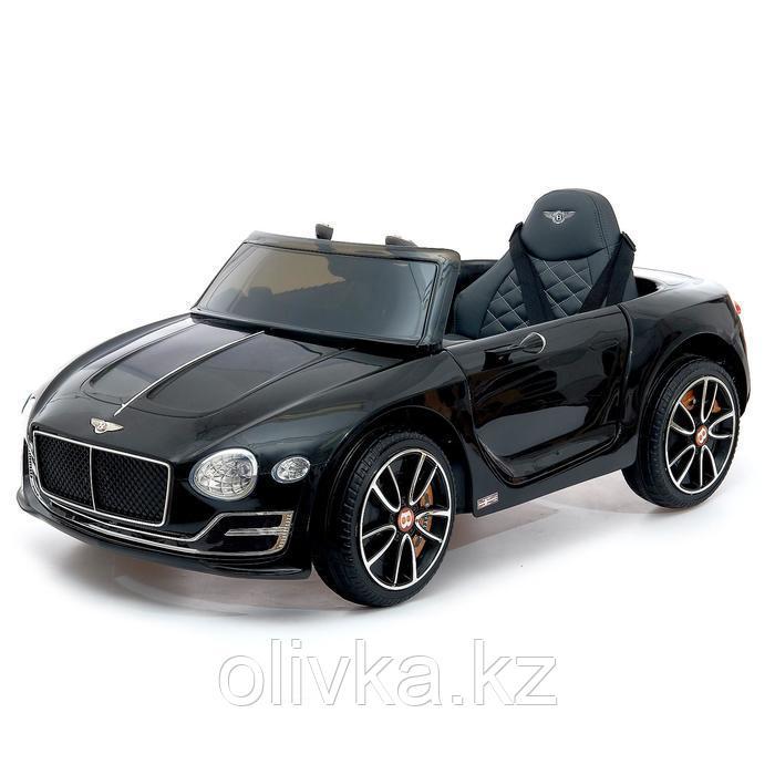 Электромобиль Bentley EXP 12 Speed 6e Concept, EVA колеса, кожаное сиденье, цвет чёрный