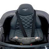 Электромобиль Bentley EXP 12 Speed 6e Concept, EVA колеса, кожаное сиденье, цвет чёрный, фото 7