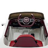 Электромобиль Bentley EXP 12 Speed 6e Concept, EVA колеса, кожаное сидение, цвет белый, фото 6