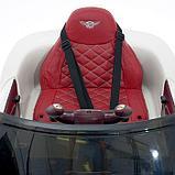 Электромобиль Bentley EXP 12 Speed 6e Concept, EVA колеса, кожаное сидение, цвет белый, фото 7