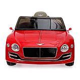 Электромобиль Bentley EXP 12 Speed 6e Concept, EVA колеса, кожаное сидение, цвет красный, фото 4