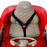 Электромобиль Bentley EXP 12 Speed 6e Concept, EVA колеса, кожаное сидение, цвет красный, фото 7