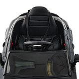 Электромобиль MERCEDES-BENZ C63 S AMG, цвет черный, EVA колеса, фото 8