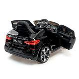 Электромобиль BMW 6 Series GT, цвет черный, EVA колеса, кожаное сидение, фото 4