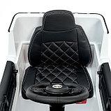 Электромобиль MERCEDES-BENZ G63 AMG, цвет белый, EVA колеса, кожаное сиденье, фото 8