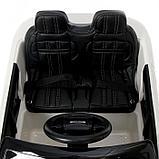 Электромобиль Range Rover Evoque, кожаное сиденье, EVA колеса, цвет белый, фото 7