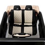 Электромобиль MERCEDES-BENZ G 650 Landaulet, EVA, кожаное сиденье, цвет белый, фото 7