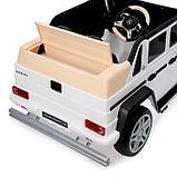 Электромобиль MERCEDES-BENZ G 650 Landaulet, EVA, кожаное сиденье, цвет белый, фото 8