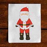 Новогоднее ёлочное украшение под раскраску «Дед Мороз» + краски 6 цв по 3 г, 2 кисти, фото 2