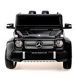 Электромобиль MERCEDES-BENZ G 650 Landaulet, EVA, кожаное сидение, цвет чёрный глянец, фото 4