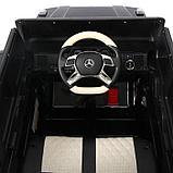 Электромобиль MERCEDES-BENZ G 650 Landaulet, EVA, кожаное сидение, цвет чёрный глянец, фото 6