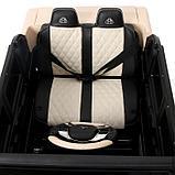 Электромобиль MERCEDES-BENZ G 650 Landaulet, EVA, кожаное сидение, цвет чёрный глянец, фото 7