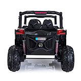 Электромобиль «БАГГИ», полный привод 4WD, кожаное сидение, цвет белый, фото 5