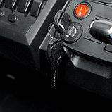 Электромобиль «БАГГИ», полный привод 4WD, кожаное сидение, цвет белый, фото 7