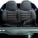 Электромобиль «БАГГИ», полный привод 4WD, кожаное сидение, цвет белый, фото 8