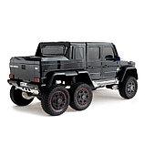 Электромобиль MERCEDES-BENZ G63 AMG 6x6», 6WD полный привод, цвет глянец черный, EVA, фото 3