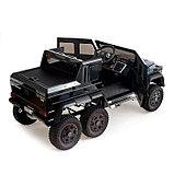 Электромобиль MERCEDES-BENZ G63 AMG 6x6», 6WD полный привод, цвет глянец черный, EVA, фото 4