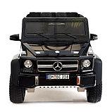 Электромобиль MERCEDES-BENZ G63 AMG 6x6», 6WD полный привод, цвет глянец черный, EVA, фото 5