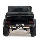 Электромобиль MERCEDES-BENZ G63 AMG 6x6», 6WD полный привод, цвет глянец черный, EVA, фото 6