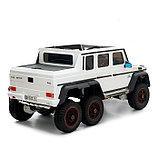 Электромобиль MERCEDES-BENZ G63 AMG 6x6, 6WD полный привод, цвет белый, EVA, фото 3